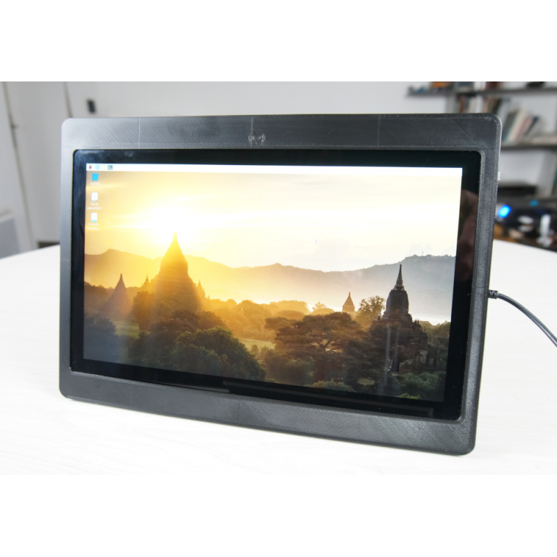 Diskio Pi color black, desktop position